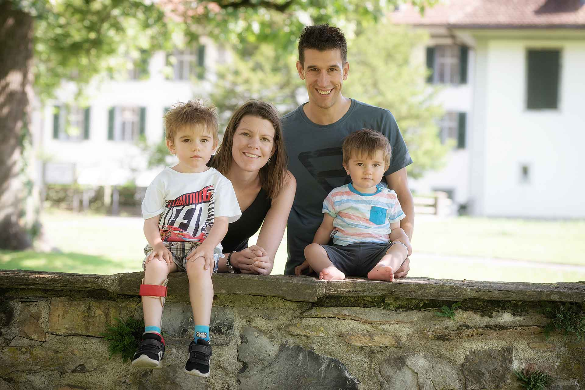 Familien Fotoshooting in Interlaken